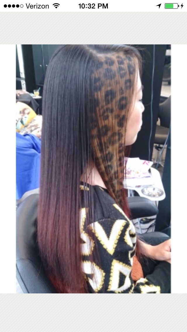Funky Hair Color Design Hairstyle Pinterest Funky Hair Colors
