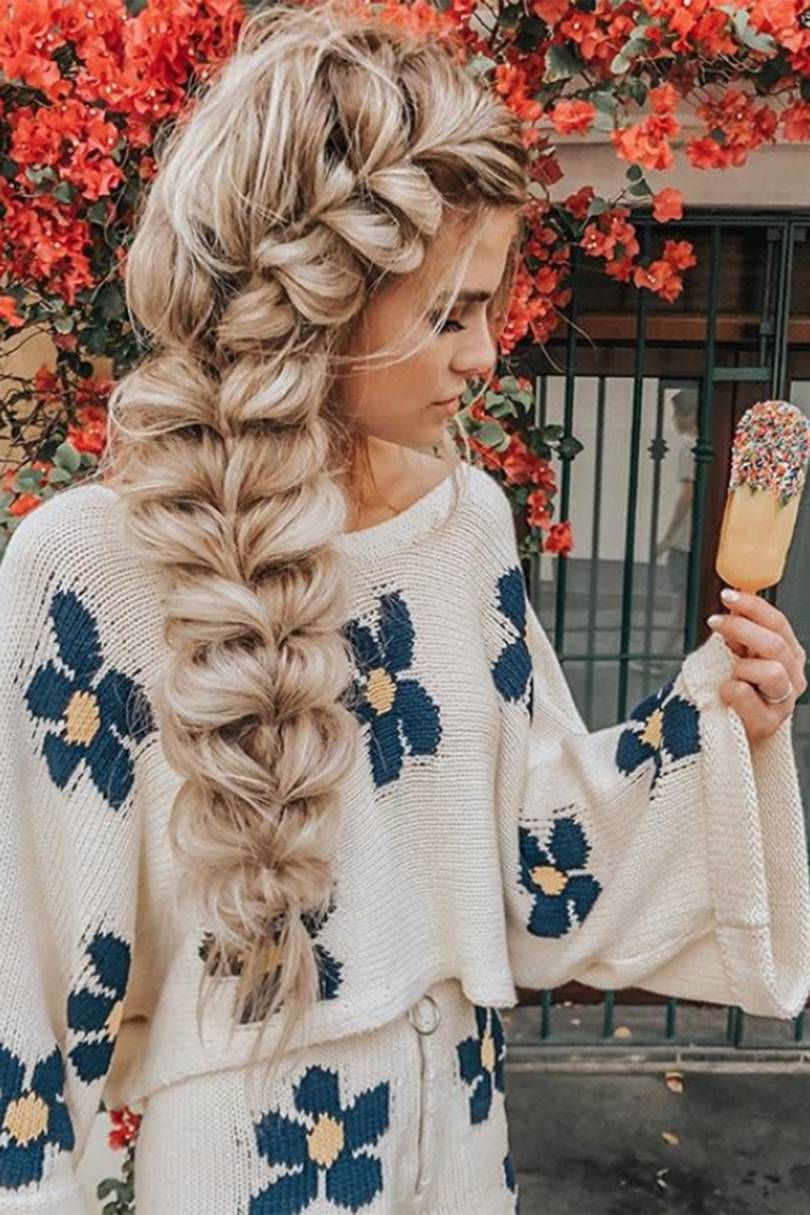 Pull-through braids are this summer's most popular style, with searches up by 155%