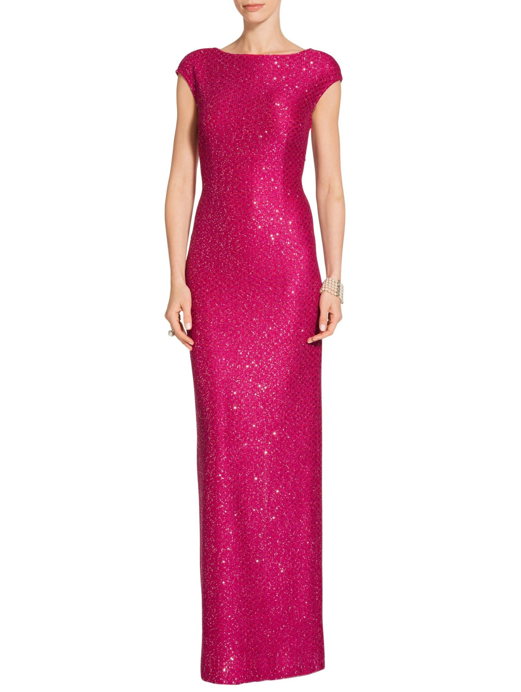 Womens Hansh Sequin Knit Gown   St. John Knits   Adorable Wallpapers ...