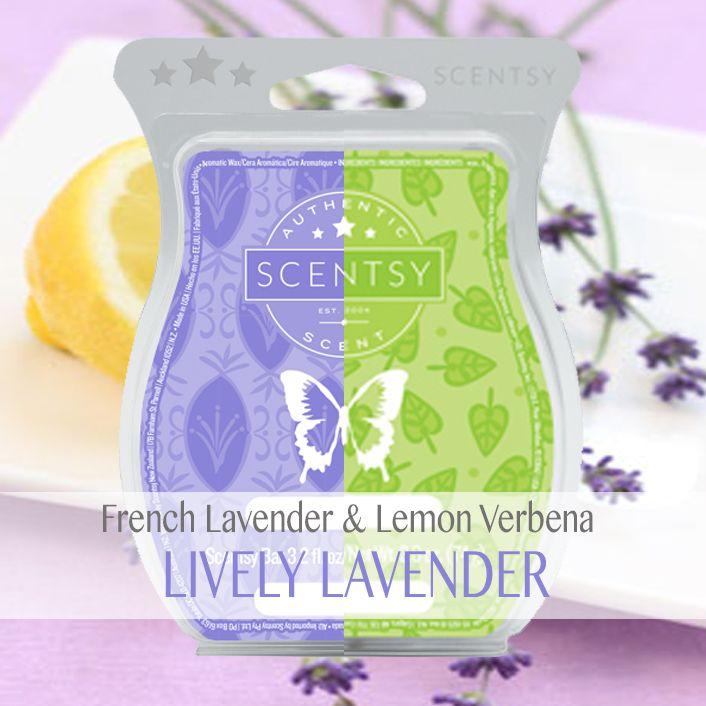 Scentsy French Lavender Scentsy Lemon Verbena