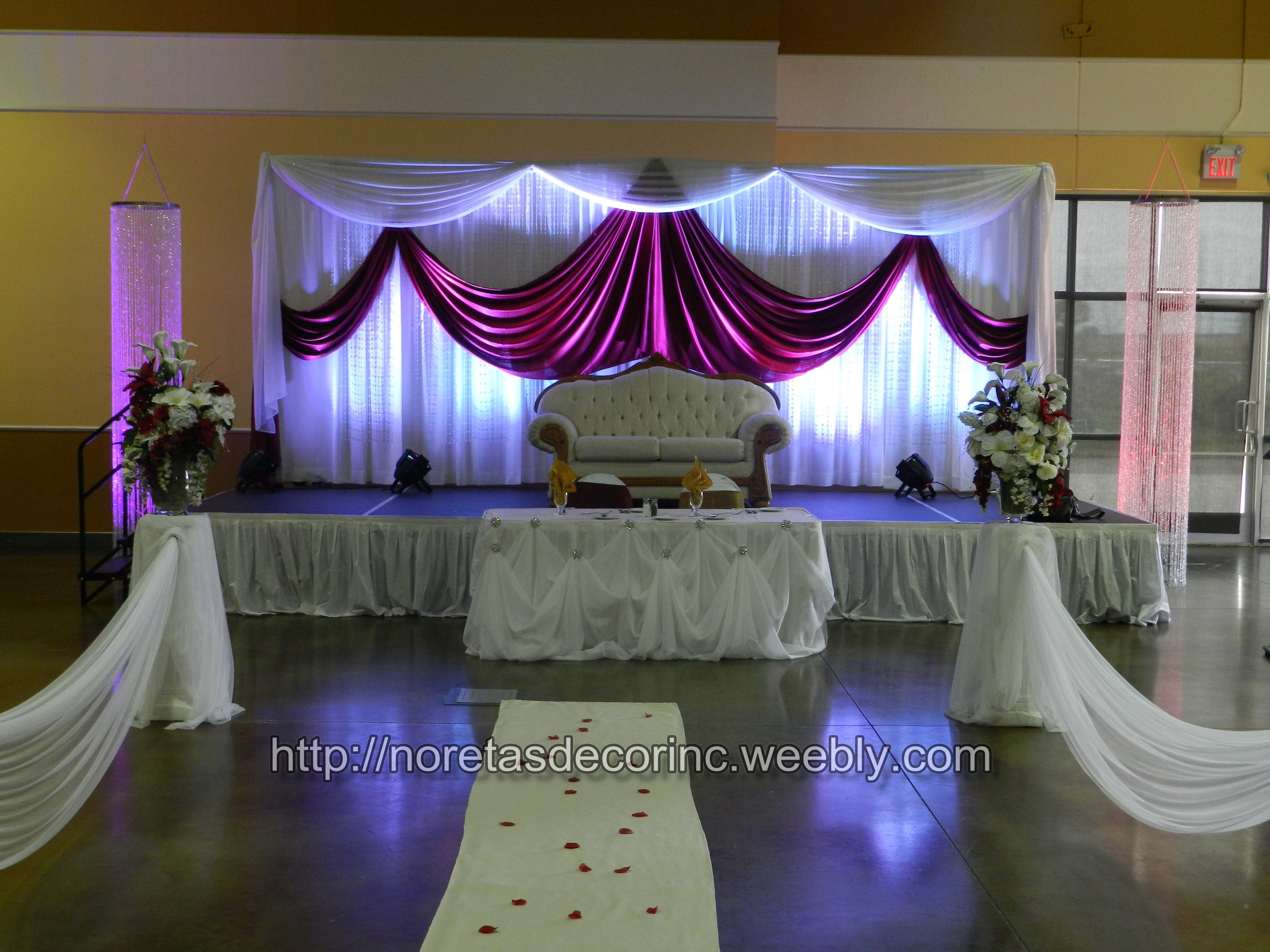 Banquet Hall Decoration Wedding Reception Decoration Beautiful Back Drop Wedding Reception Hall Hall Decor Wedding Reception Decorations