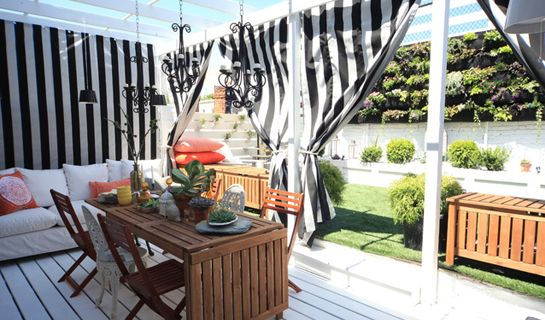 Outdoor Privacy Curtains - Curtains Design Gallery