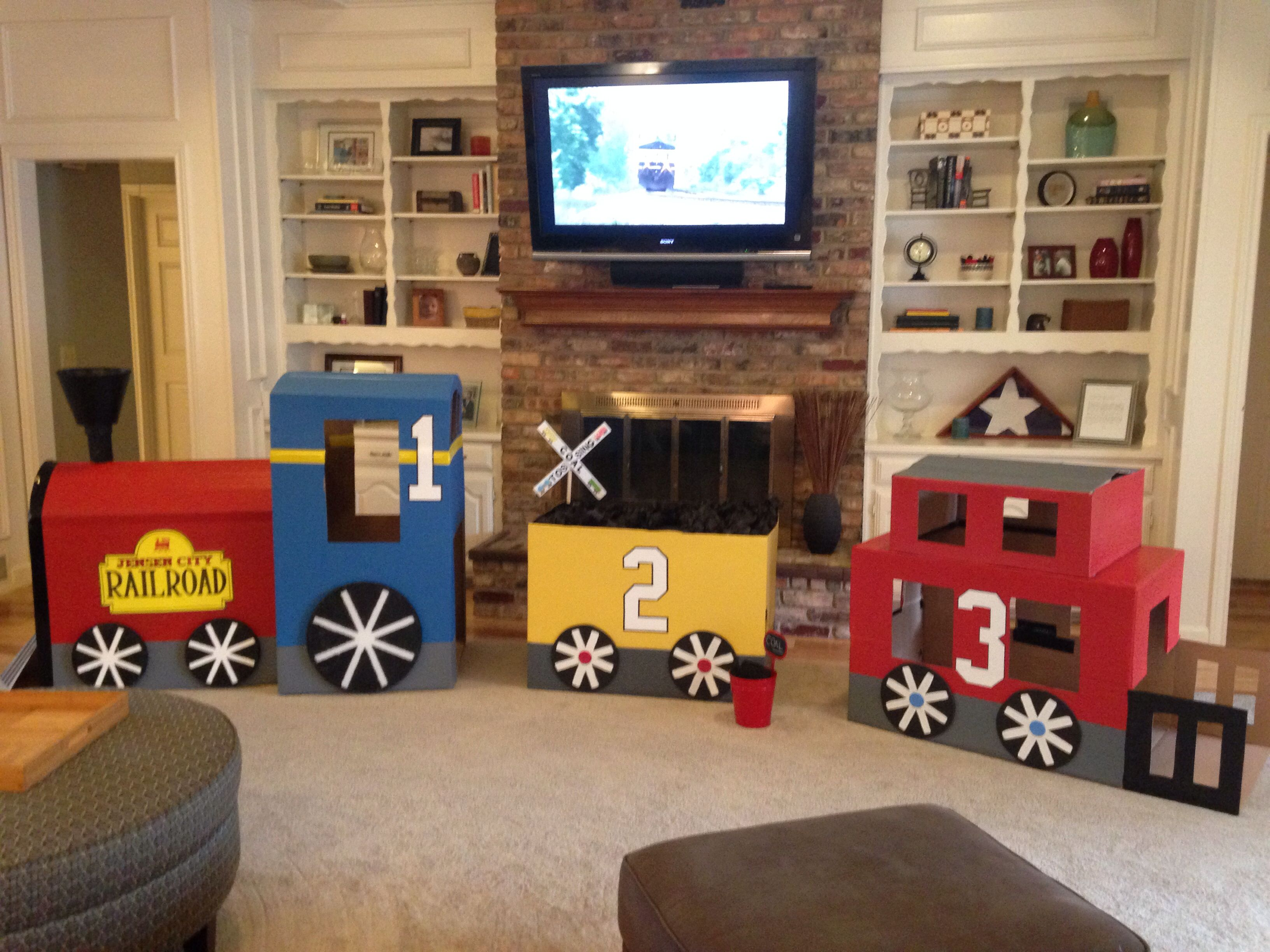 Best 25 Cardboard train ideas on Pinterest