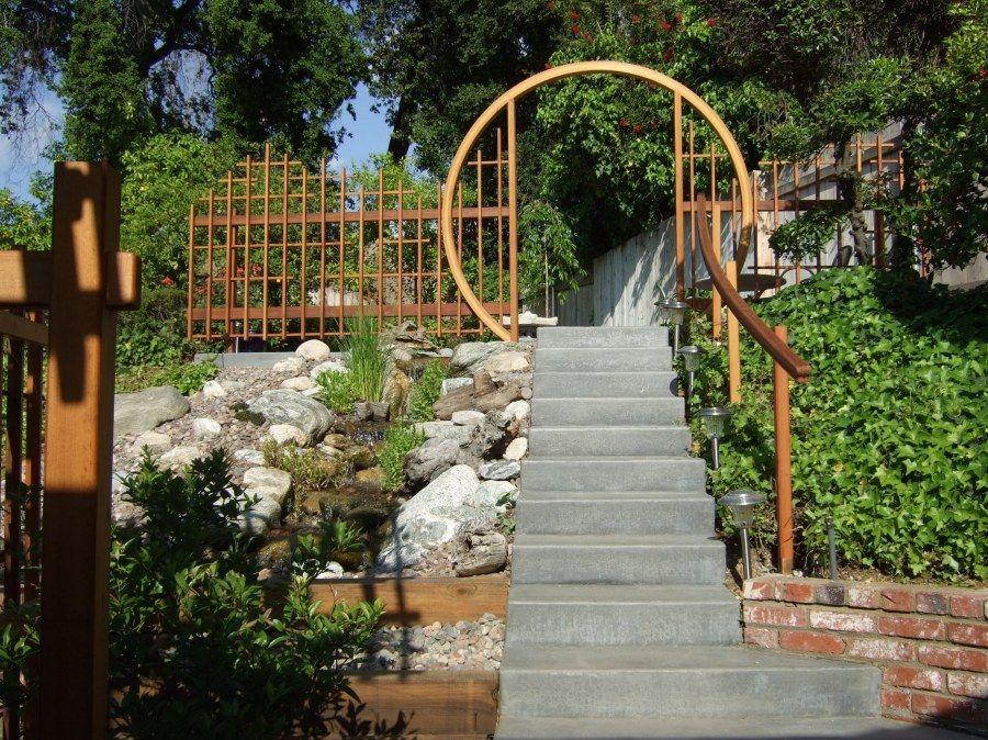 MoonGate FENCES N GATES Pinterest Moon gate, Gate and Dream garden - chinesischer garten brucke