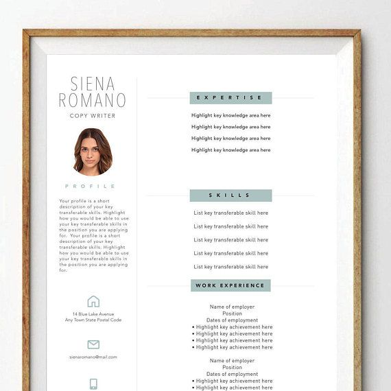 Resume References Page Résumé References Page Cover Letter Thank You Letter  Stylish .
