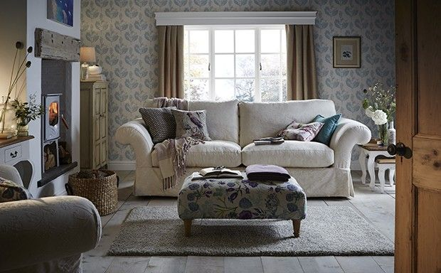 Chiltern Grand Plain Fabric Sofa