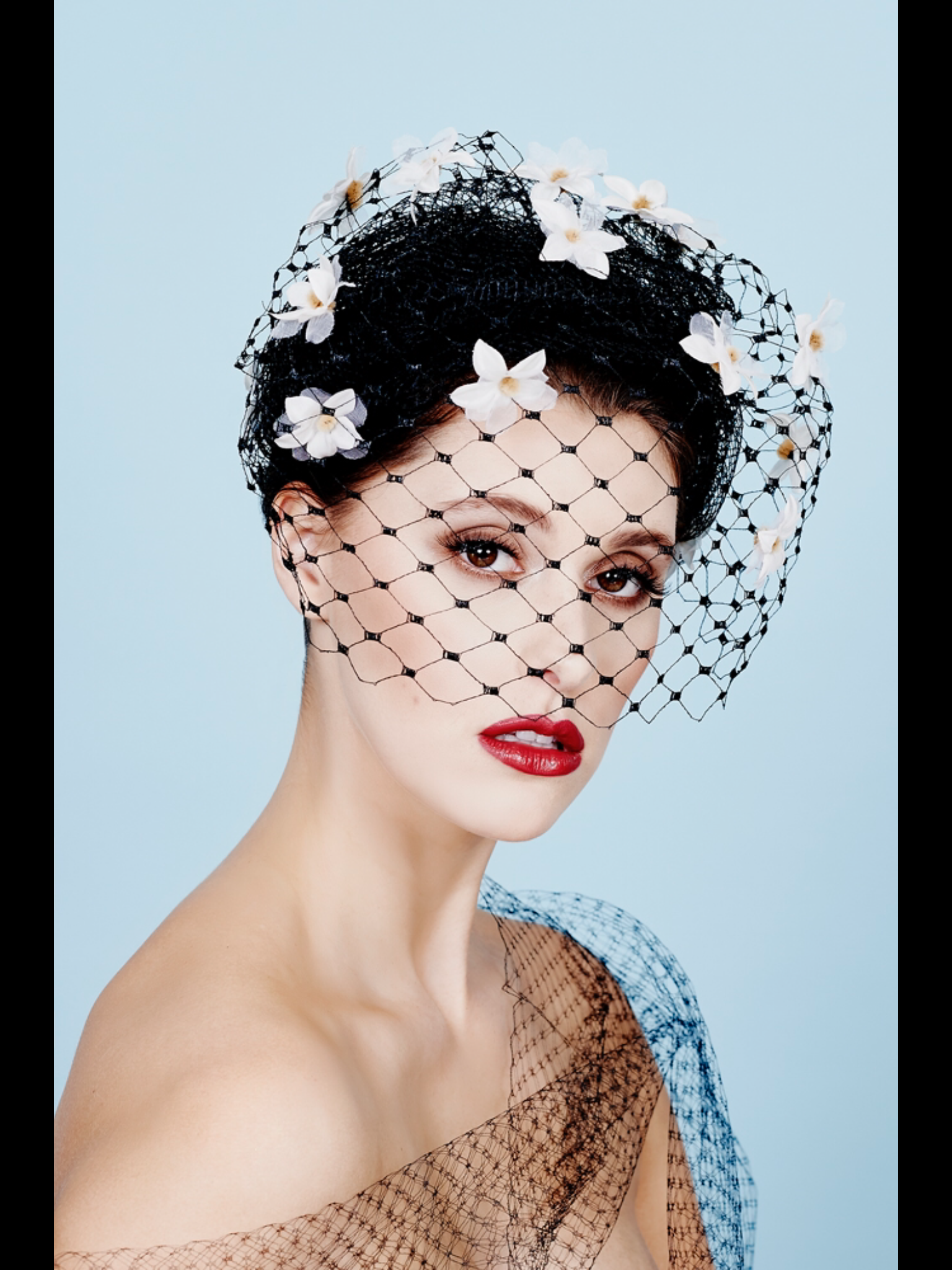 Misty Veil Made By Louise Macdonald Milliner Melbourne Fashion Hat Designs Hat Fashion