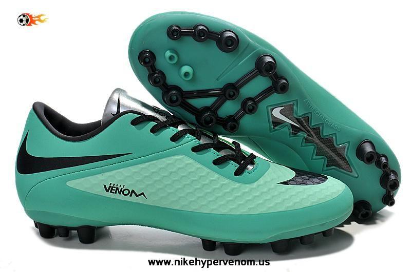 on sale 834ee 01ca4 Authentic Seafoam/Negro Nike Hypervenom Phantom AG Boots ...