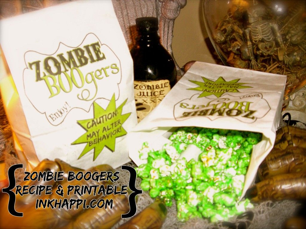 Serving up some zombie boogers zombie party and holidays halloween serving up some zombie boogers forumfinder Images