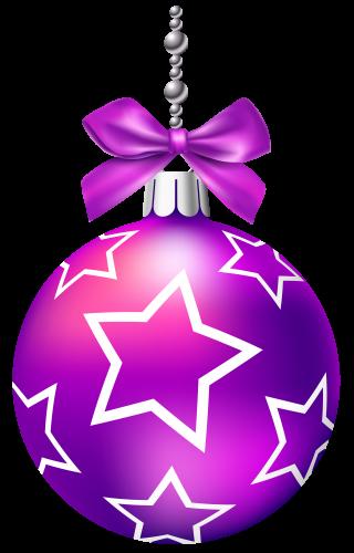 Purple Christmas Balls PNG Clip Art The Best Clipart