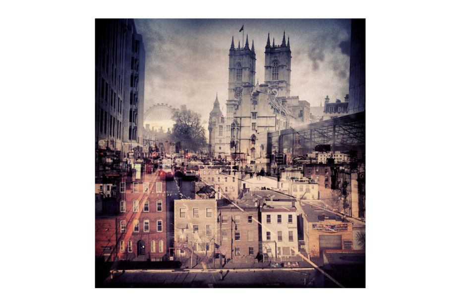 Image of New York Meets London In Daniella Zalcmans Double-Exposure Photo Series