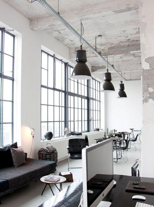 Entorno industrial casa en 2019 pinterest oficinas for Diseno de apartamentos industriales