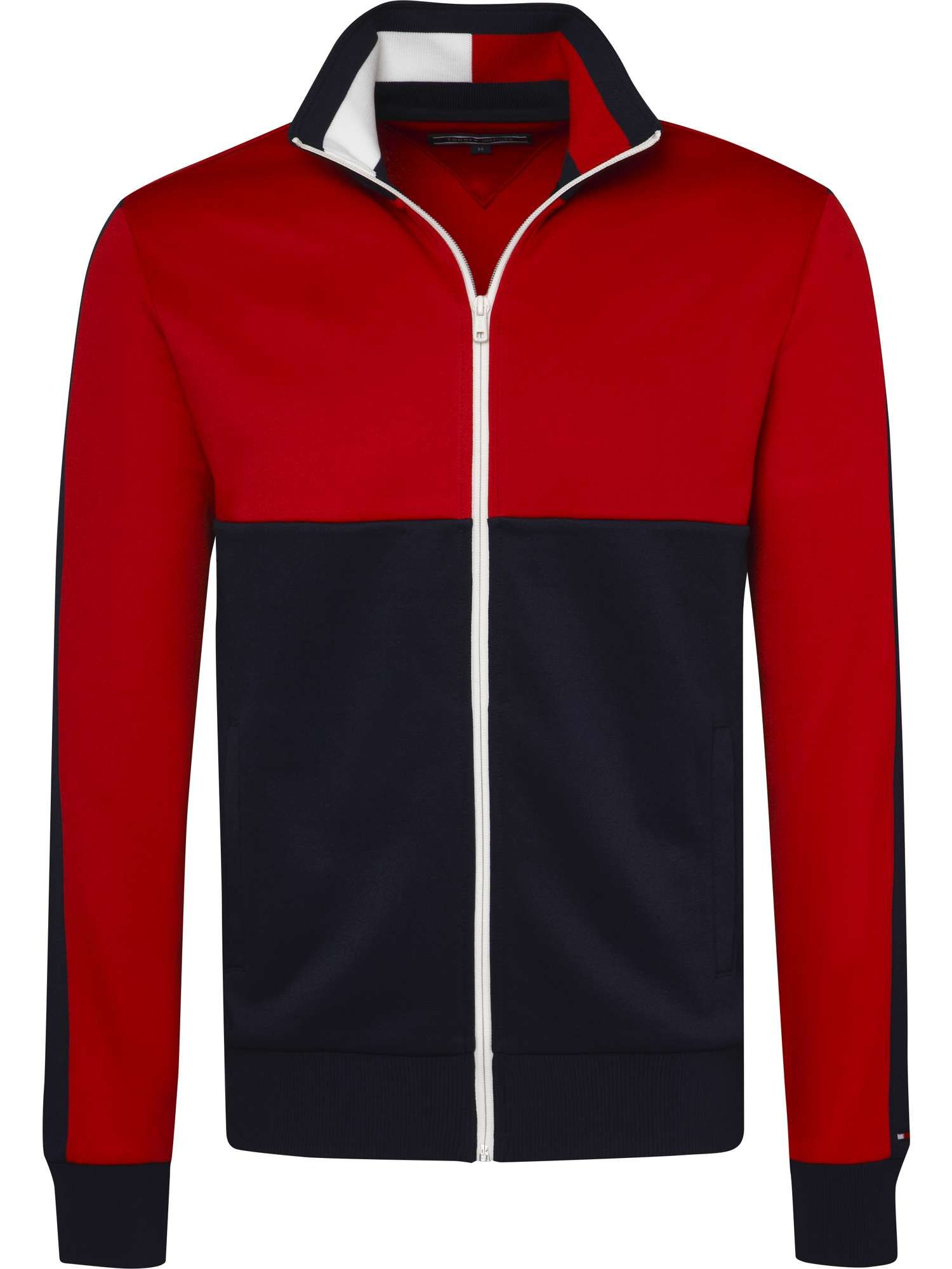 Tommy Hilfiger Sporty Tech Zip Through Sweatshirt House of