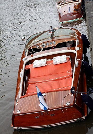 1964 Riva Super Florida Speedboat.