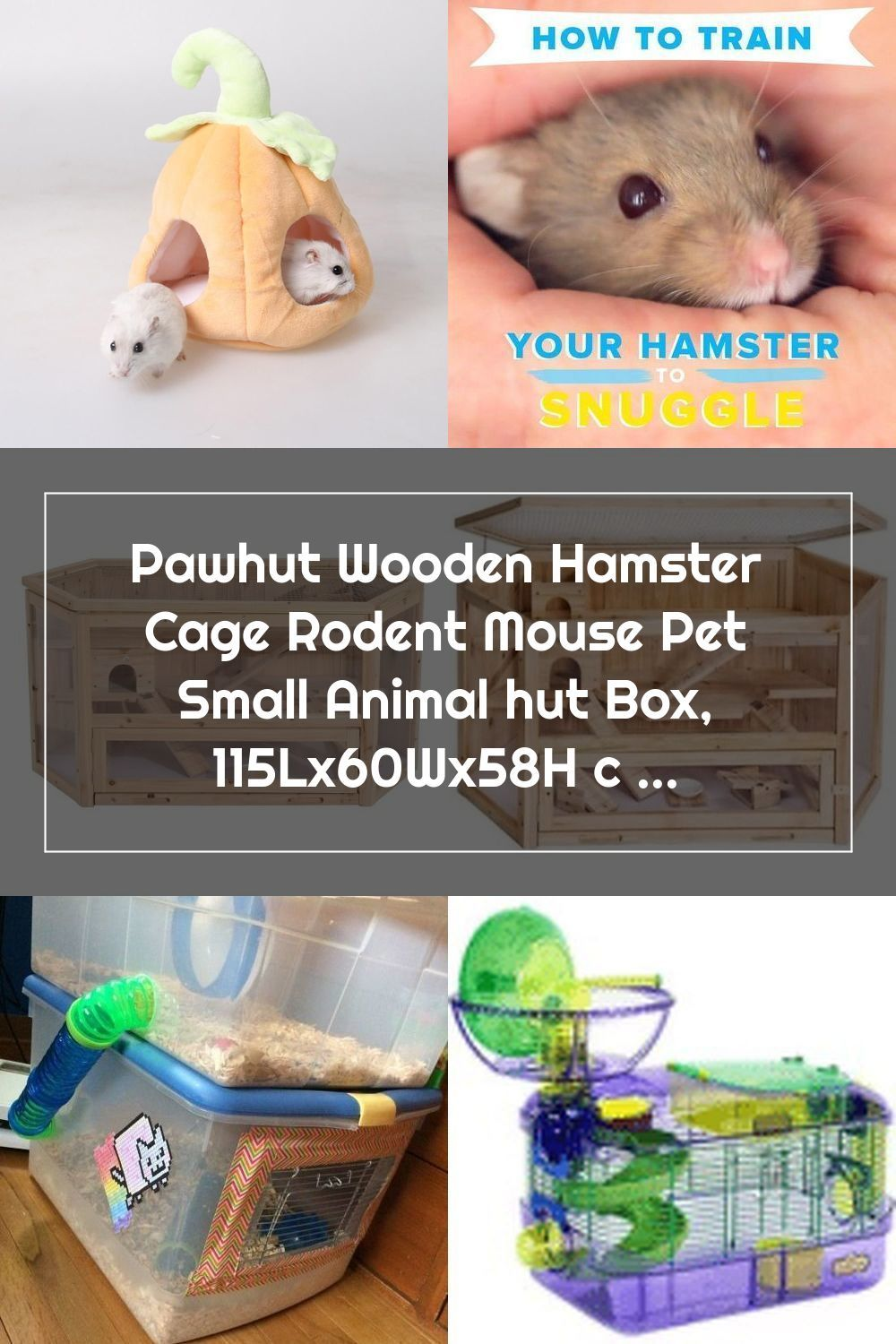 Pin On Hamster Cages