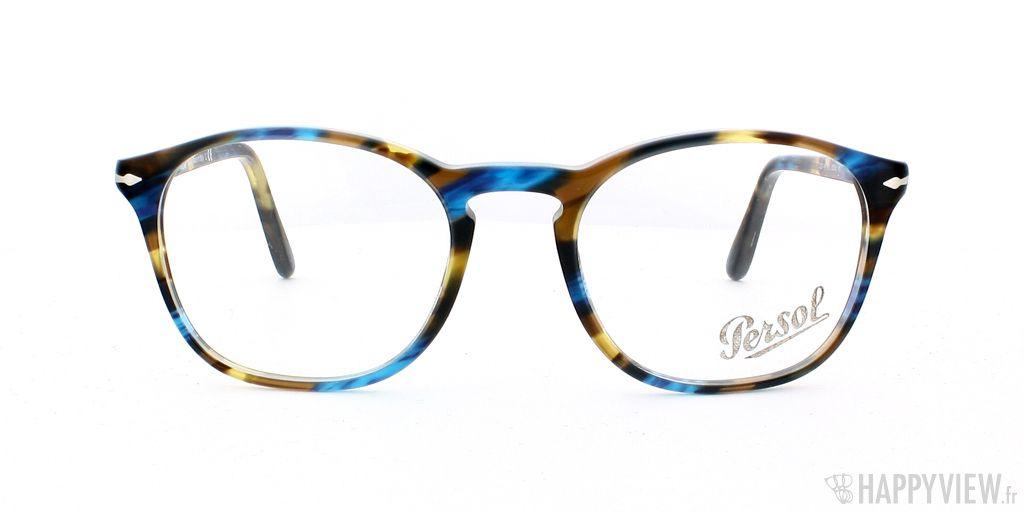 6c100602b9372 Lunettes de vue Persol 3007V Ecaille Bleu