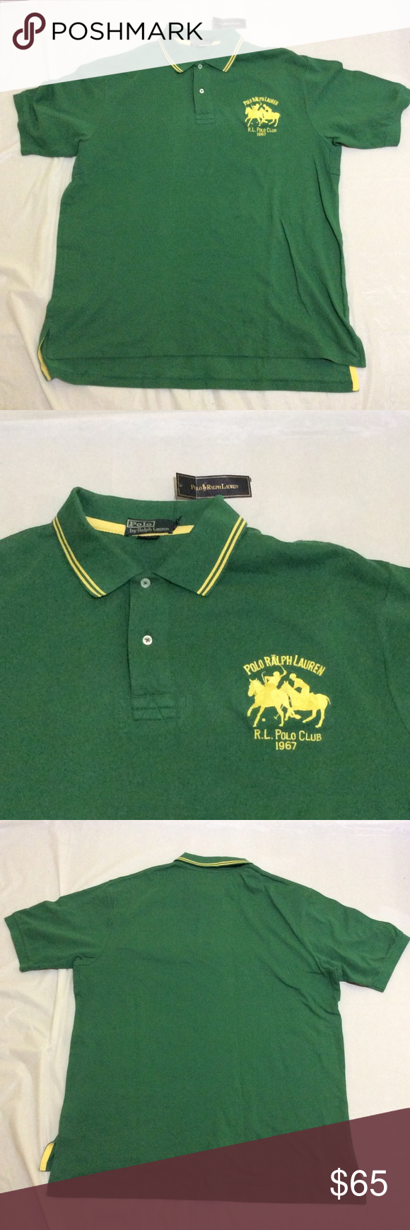 ralph lauren polo shirts with two horses