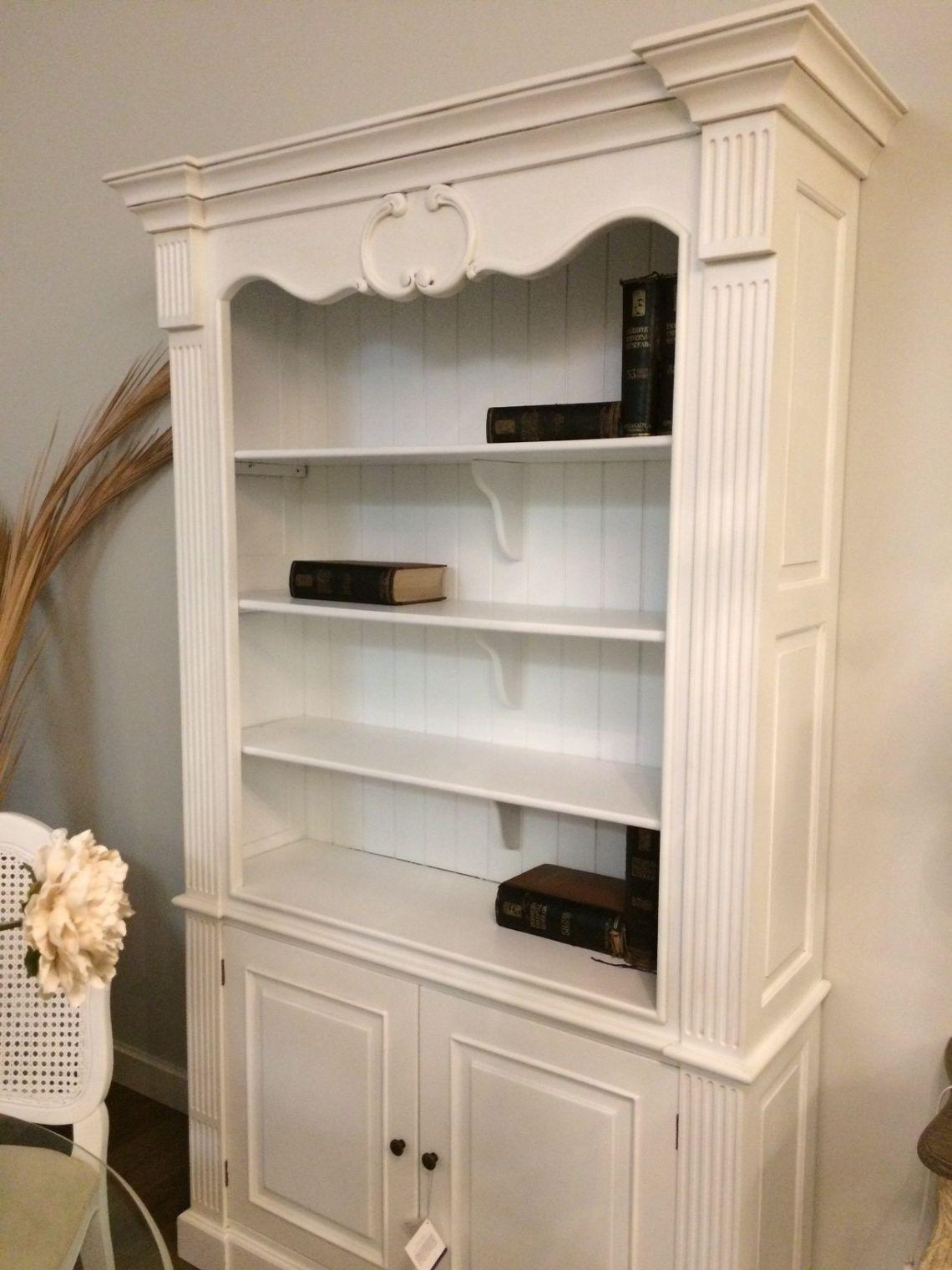 599 Estantera biblioteca lacada en blanco Mueble clsico
