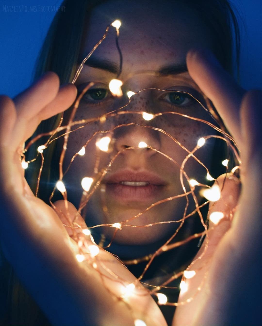 Fairy Lights Photography Portraits