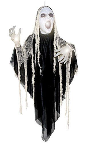 Halloween Decor Sinister Reaper Halloween animatronics, Party - animated halloween decorations
