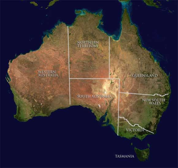 Map Of Australia Desert.Interactive Map Of The Deserts Of The Australian Outback Unit