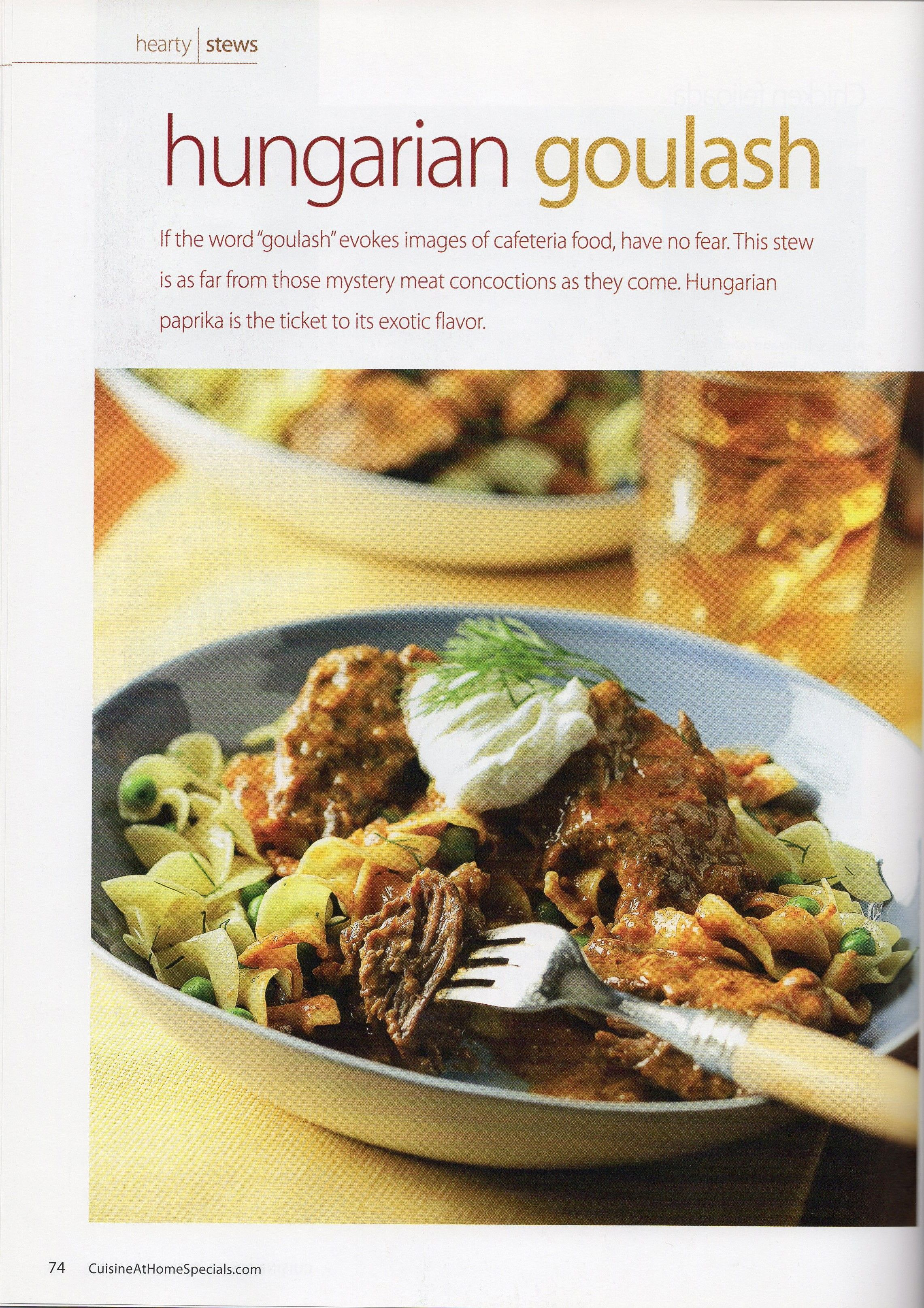 Ethnic Cuisine Book Hungarian Goulash From Cuisine Soups Stews And Chilies Book