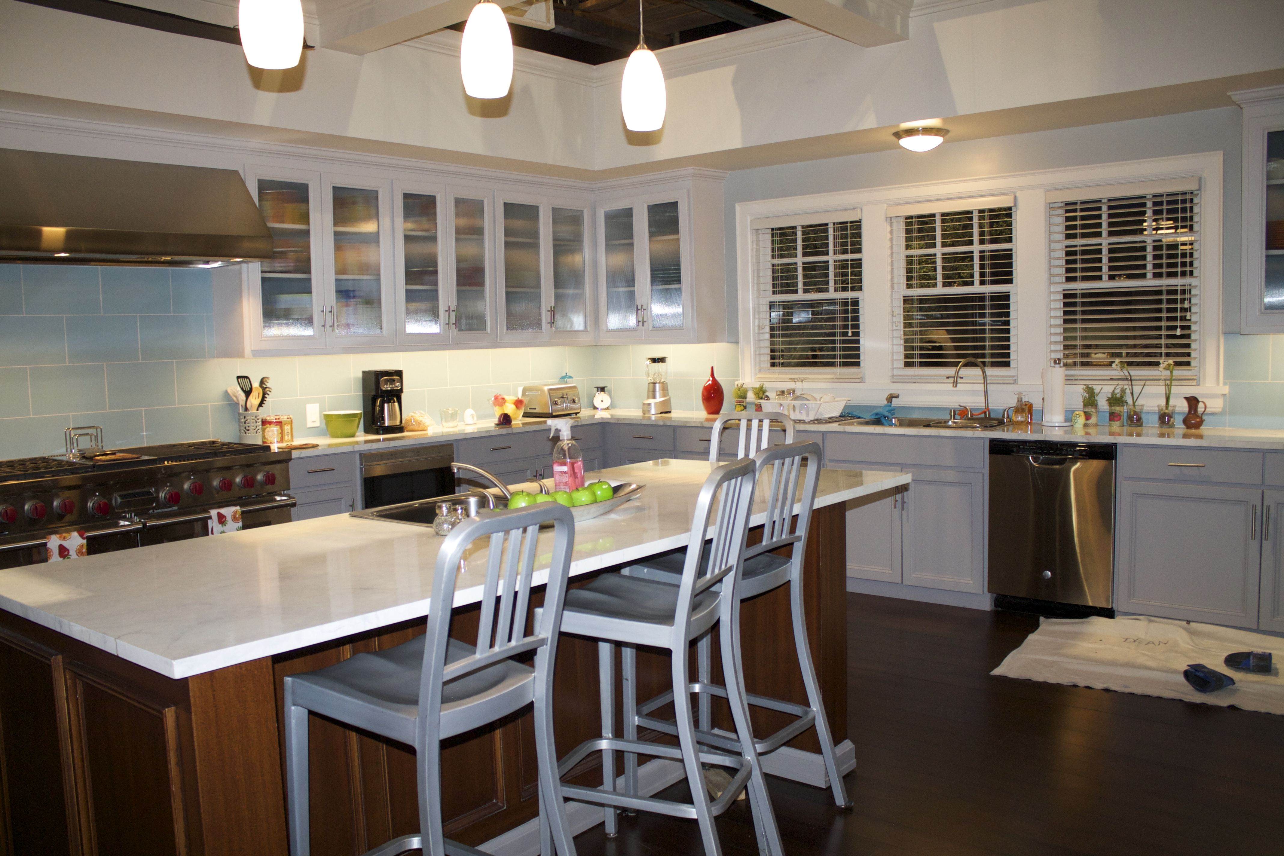 on the set of the hit tv show black ish on the set of the hit tv show black ish   black ish kitchens and      rh   pinterest com