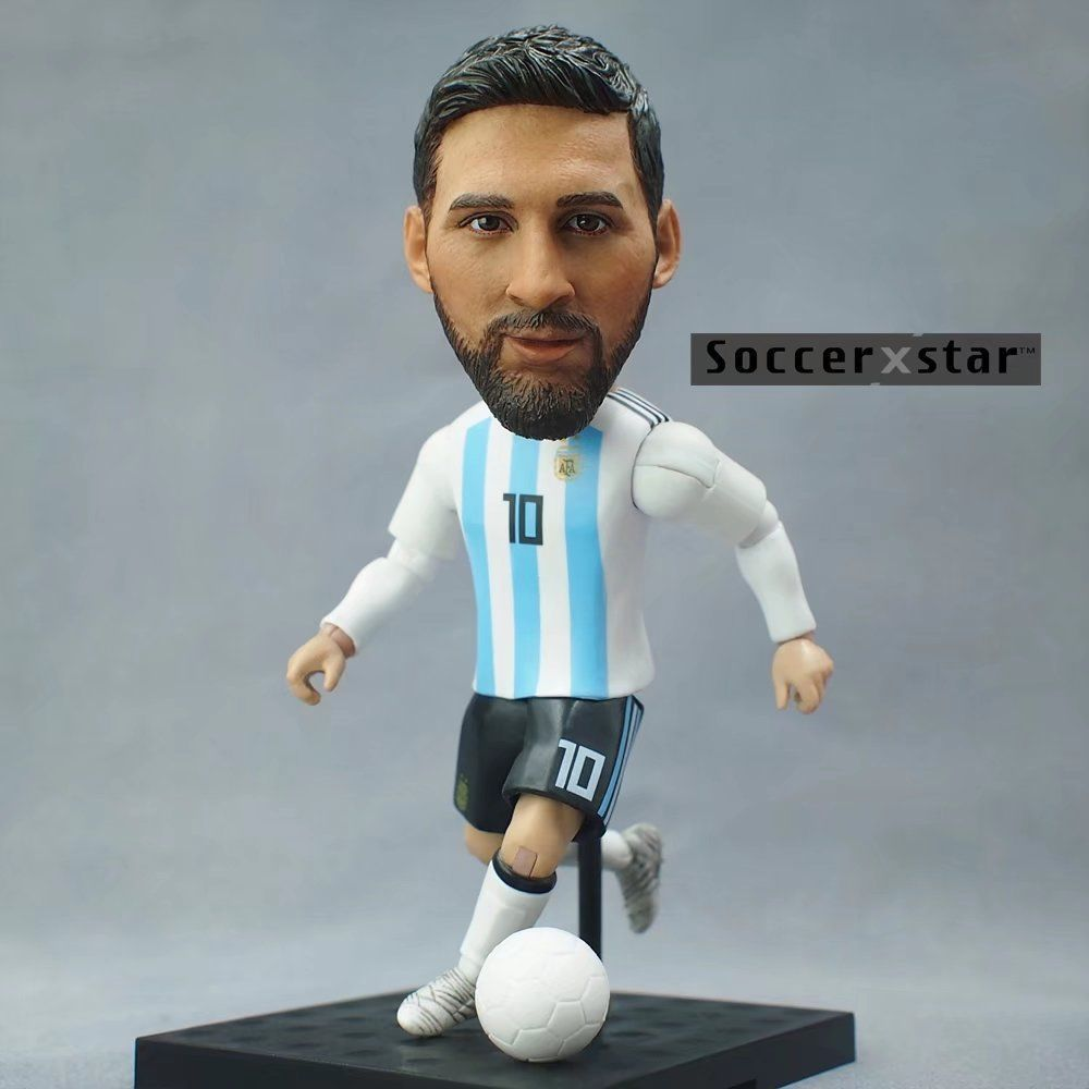 Sorvenir Soccer Messi Neymar Football Jersey Action Mini Figure Player Dolls Toy Ebay Doll Toys Collectible Toys Action Figures Soccer Fan Gifts