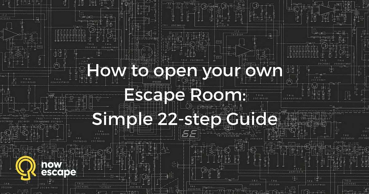 Thinking of opening your own escape room and don t know for Escape game diy
