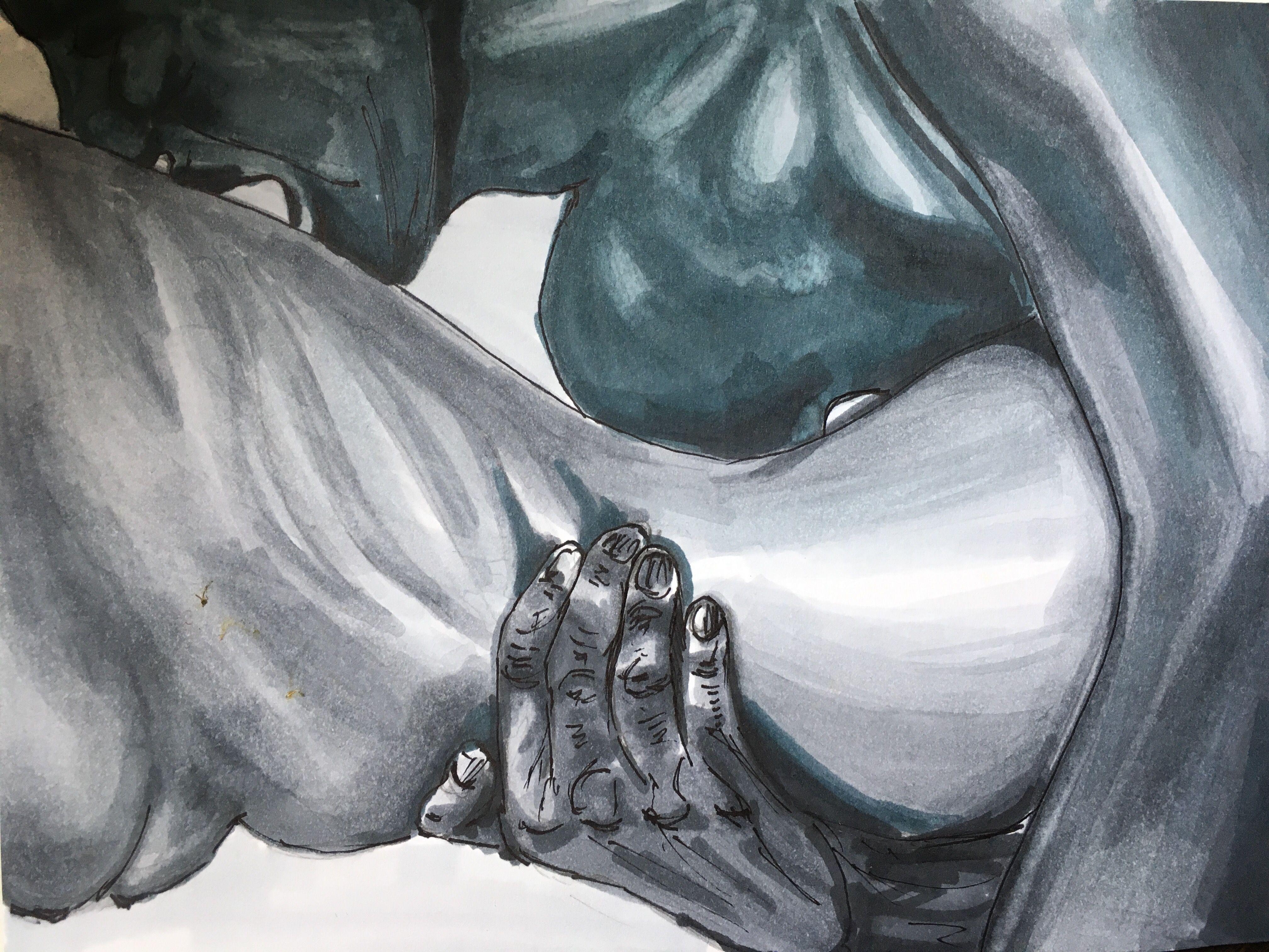 Секс арт рисунки
