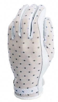 Evertan Ladies Designer Golf Gloves - Black & White Dots (LH Only) #golfumbrella