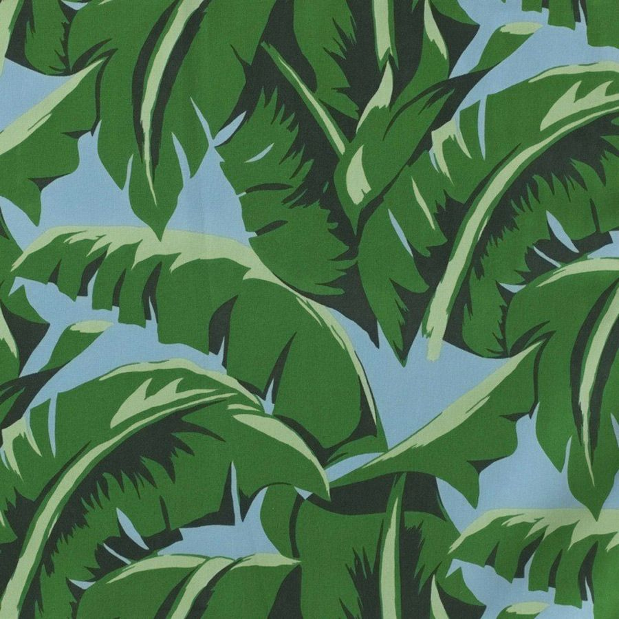 Tissu Cocoa Beach Nobilis Tropical Style Interior Cocoa Beach Tropical Fabric Prints