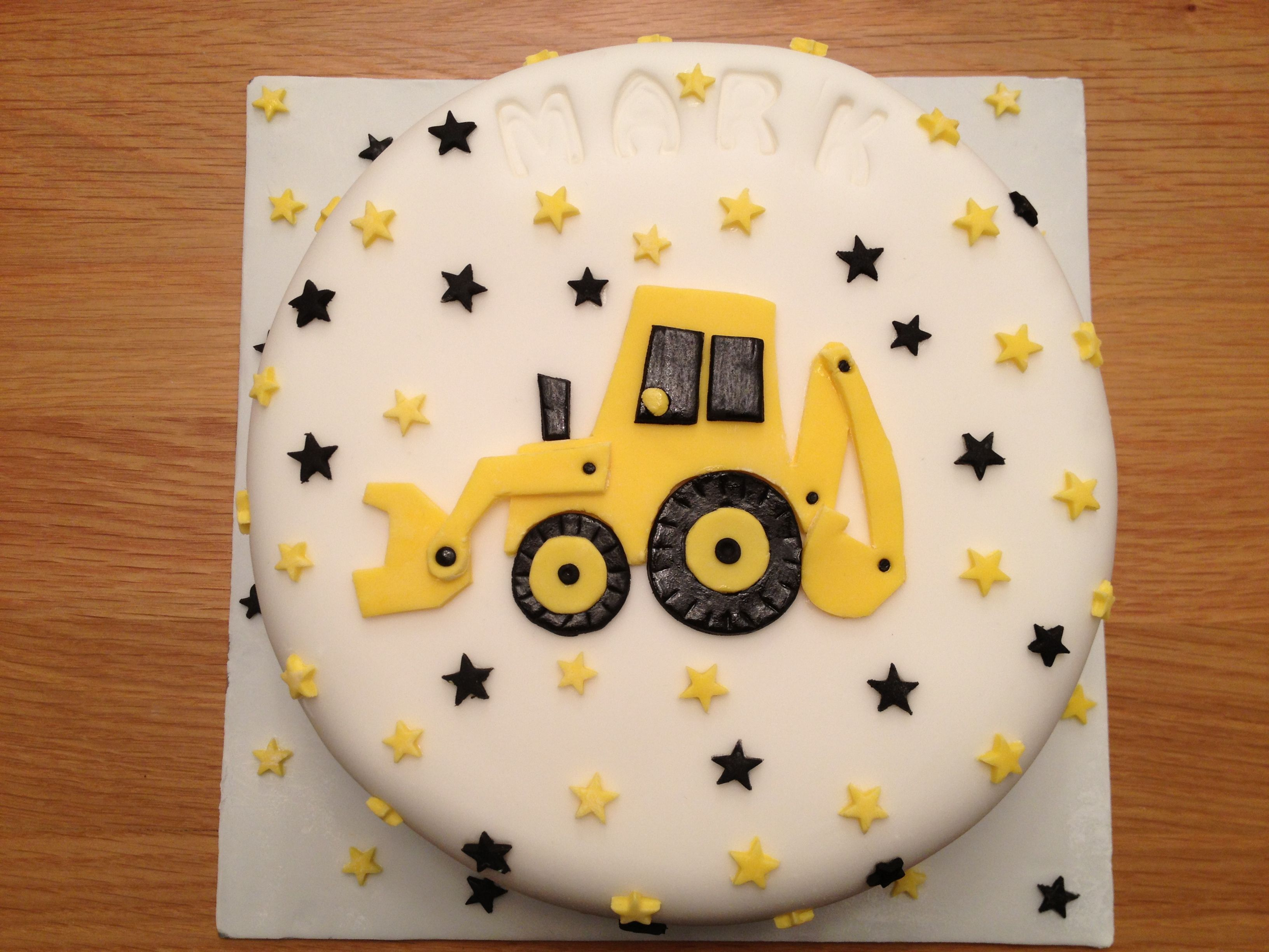 digger birthday cake celebrations pinterest digger birthday