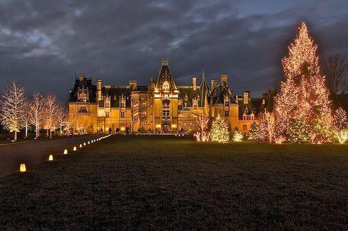Biltmore Estate Christmas.Biltmore House Christmas Asheville Nc Largest Private H
