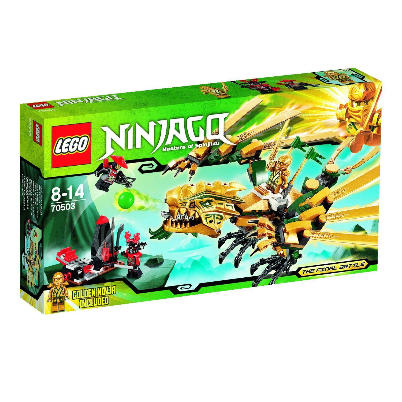 lego ninjago 70503 goldener drache amazonde spielzeug