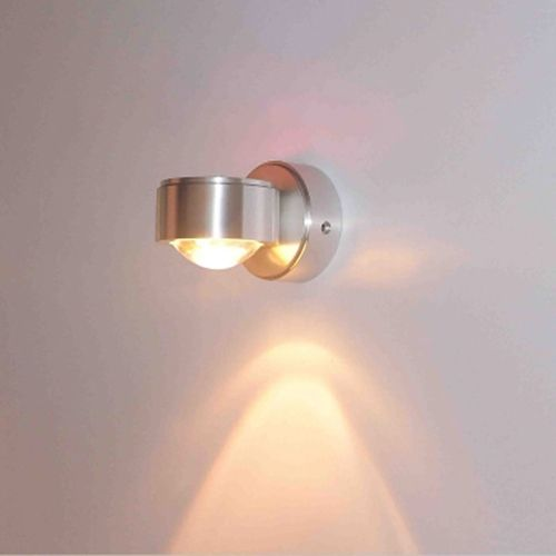 Wecus free shippingled bedroom background bedside lamp single cheap crystal wall lamp buy quality led wall light directly from china wall light suppliers led wall light crystal convex lens crystal wall lamp mozeypictures Choice Image