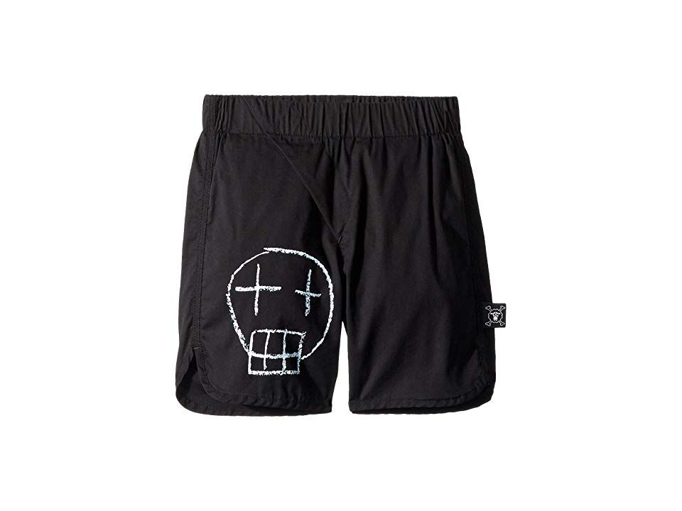 NUNUNU Mens Sketch Skull Surf Shorts Infant//Toddler//Little Kids