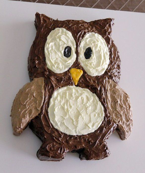 Owl cake 50 Amazing and Easy Kids Cakes momme date night