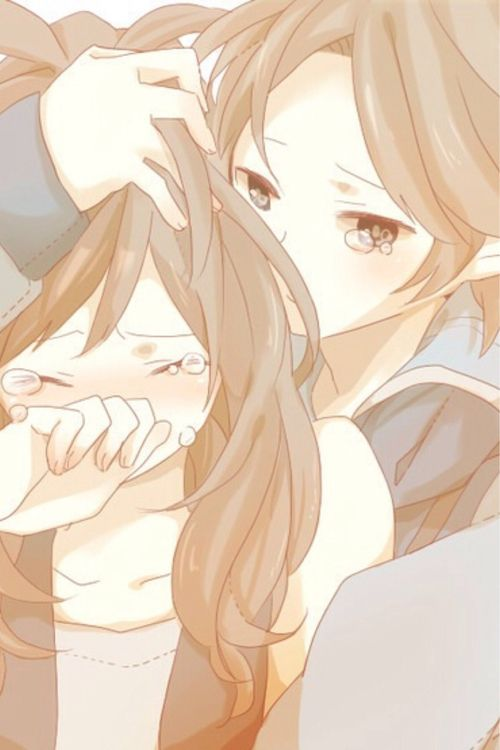 Couple kawaii anime manga pinterest manga - Manga couple triste ...