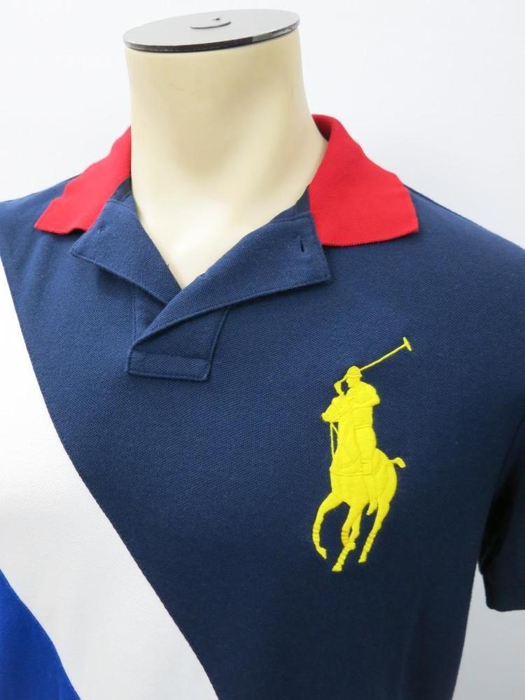 0236eb311 ... coupon polo ralph lauren custom fit big pony us open short sleeve polo  shirt medium m