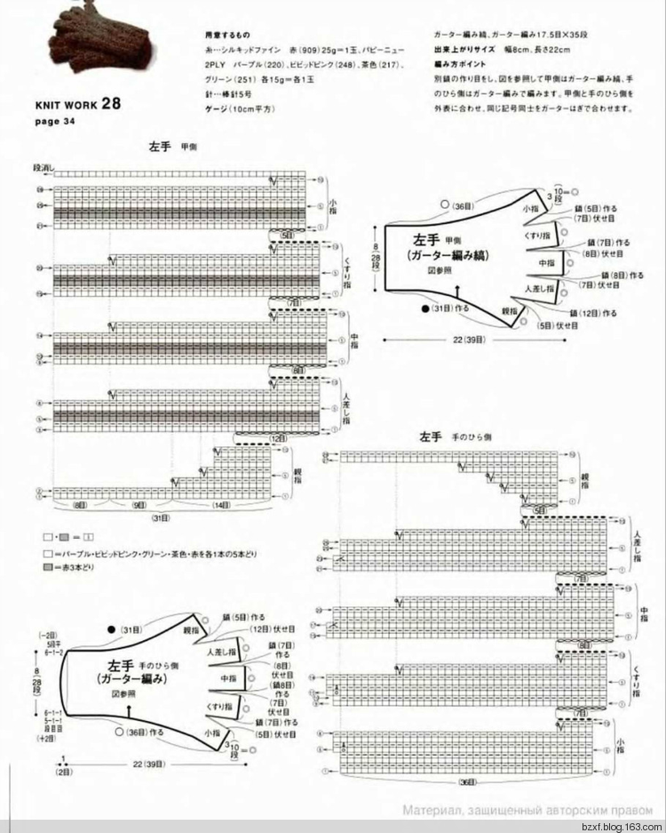 L.K.S NV4416 Knit Work-Hikaru Noguchi sp.-kr. - 编织幸福 - 编织幸福 ...