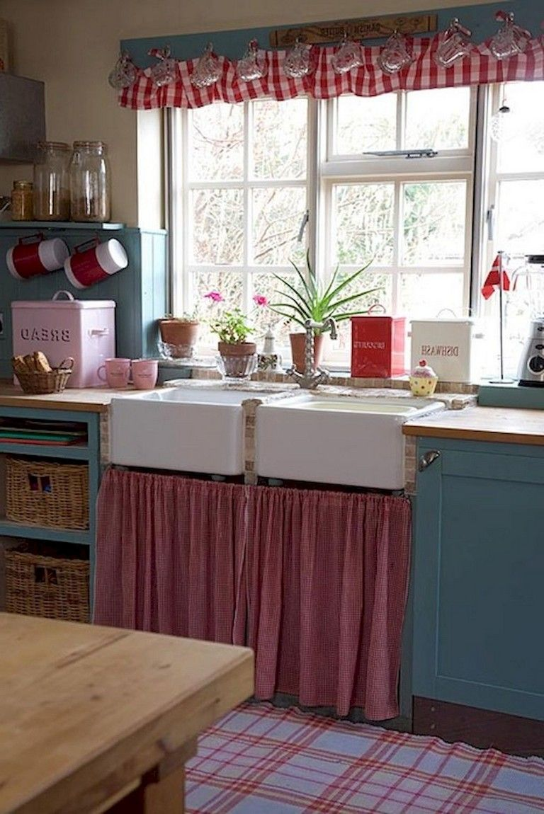 Graceful Farmhouse Kitchen Furniture Ideas on A Budget