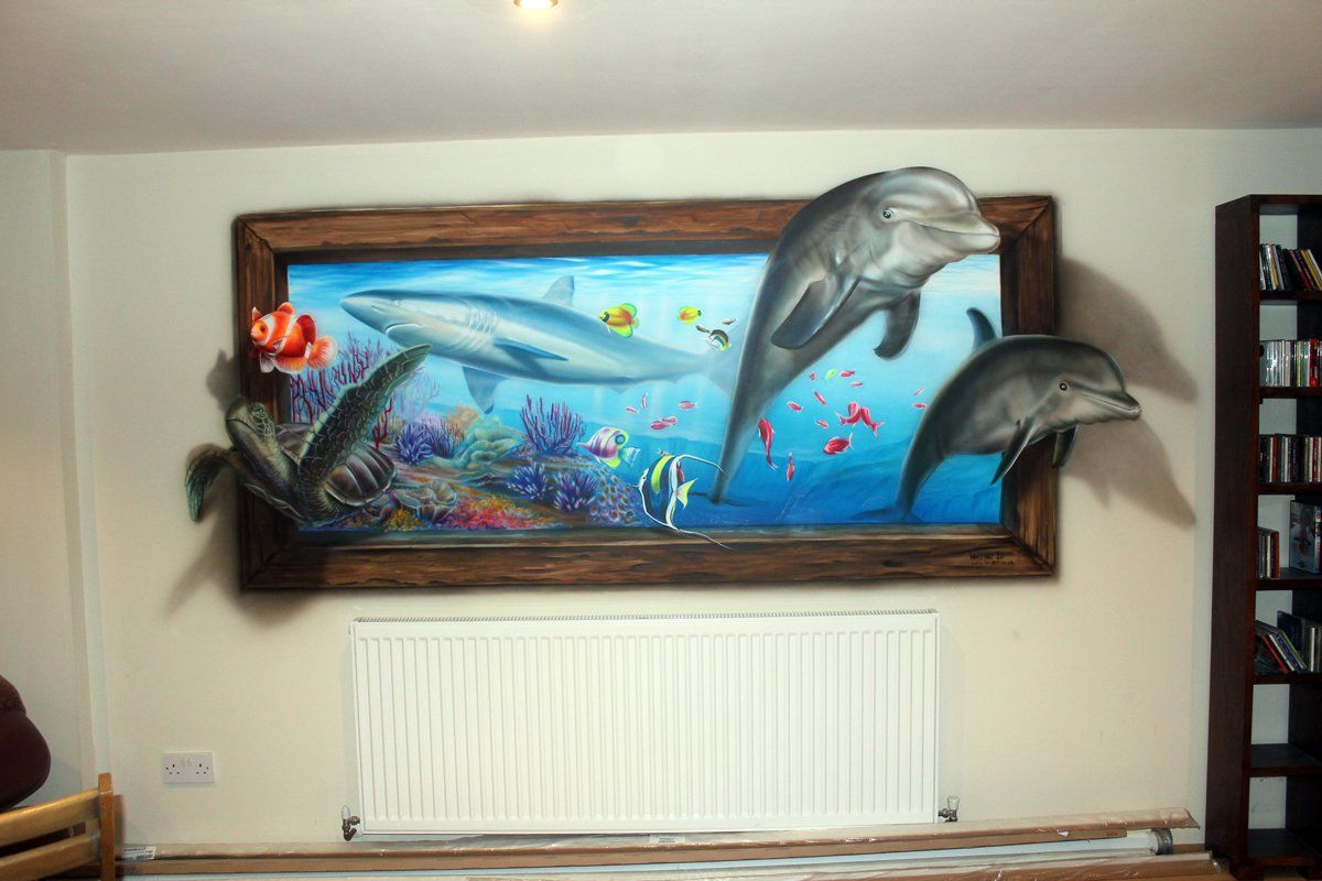 Hand painted murals for walls google search trompe loeil hand painted murals for walls google search amipublicfo Gallery
