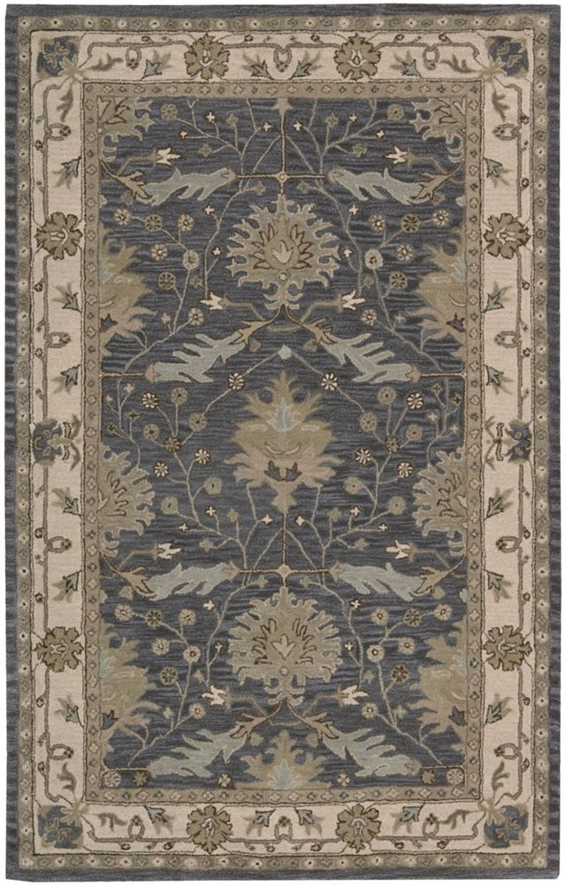 Nourison India House Ih 75 Blue Area Rug India House Area Rugs Traditional Area Rugs