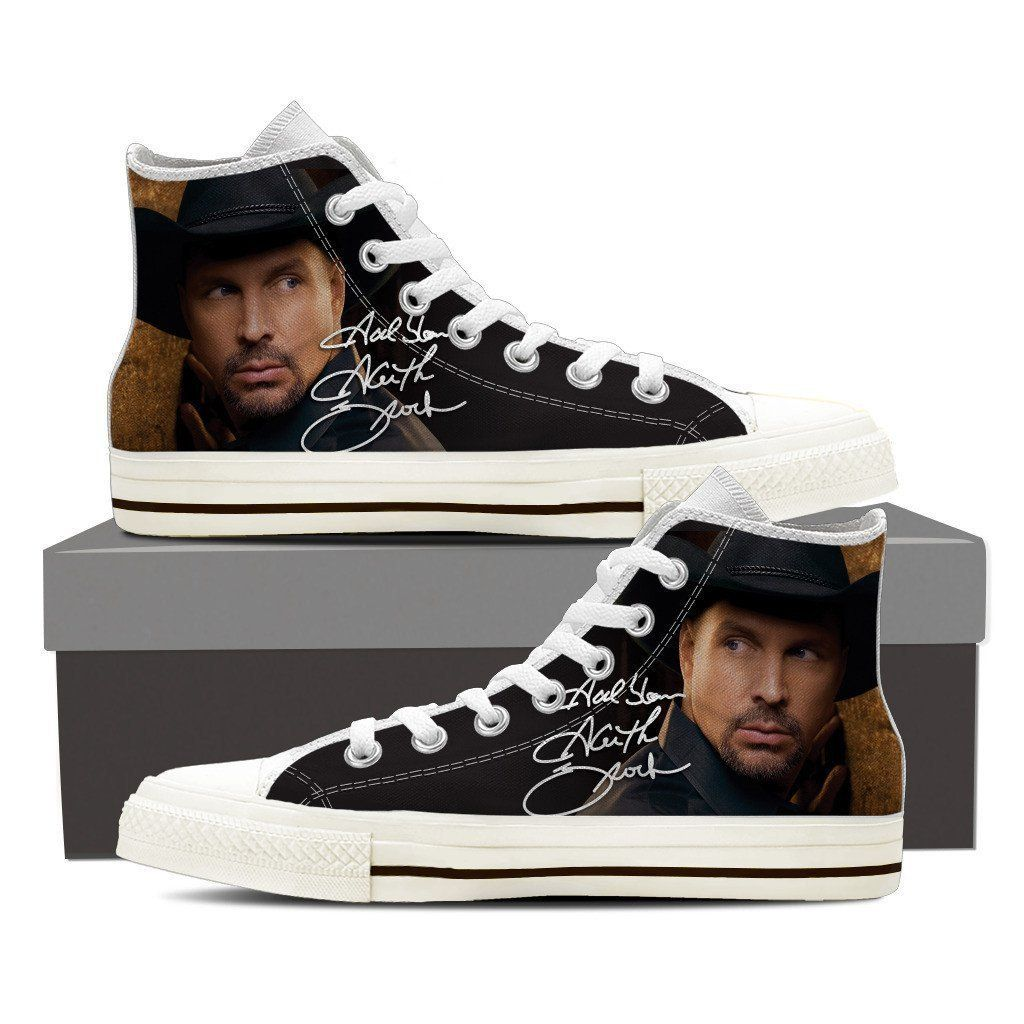 e59d2688cae garth brooks ladies high top sneakers