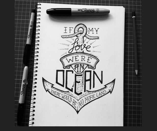 Inspirational Drawing Ideas: Drawing Idea But I Would Change It To Say Gods Love.