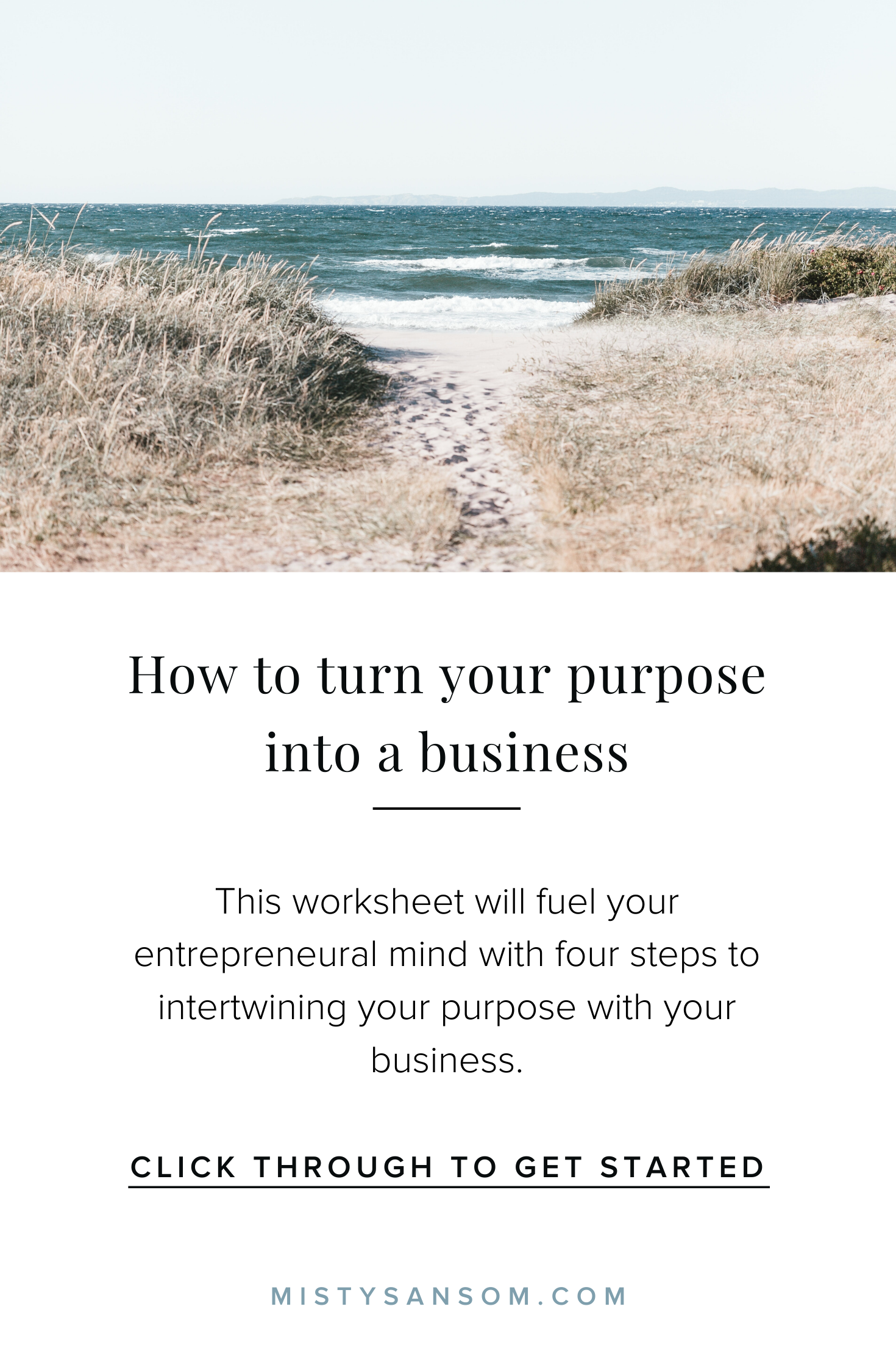 Wondering How To Turn Your Purpose Into A Business This
