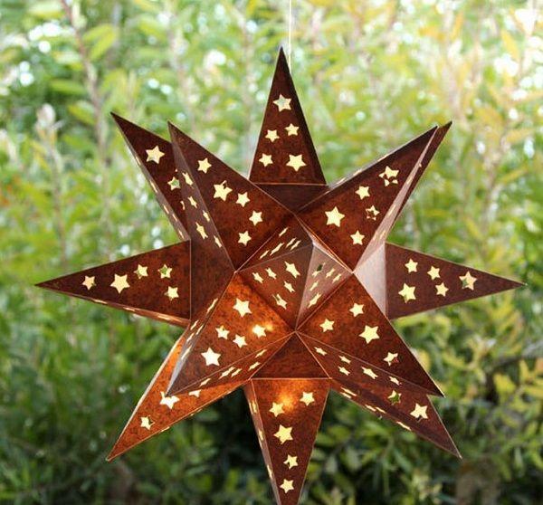 Como hacer una pantalla en forma de estrella