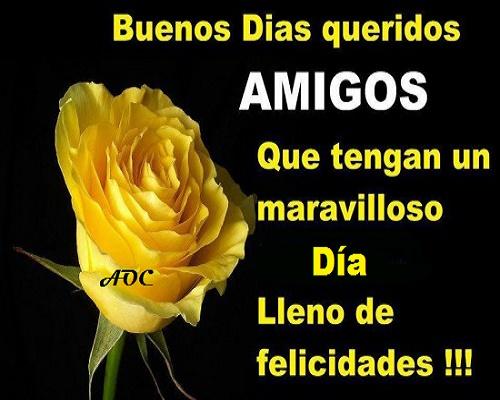 Frases De Buenos Dias Para Amigos Especiales Imagenes De Buenos