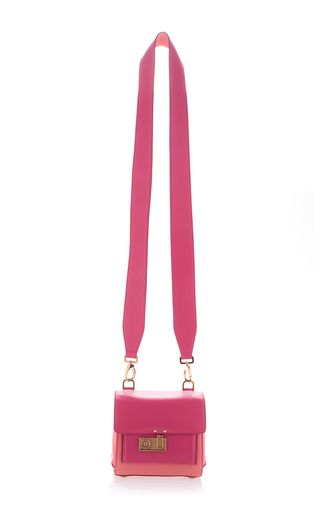 AGNONA Mini Cygnet Satchel - Detachable crossbody strap $1,990 (Alpaca, Florence Plonge' and Suede)